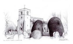 All-Saints-Church_wood-end_gail-yerrill