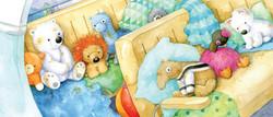 Sleepy animals in the van_portfolio_gailyerrill