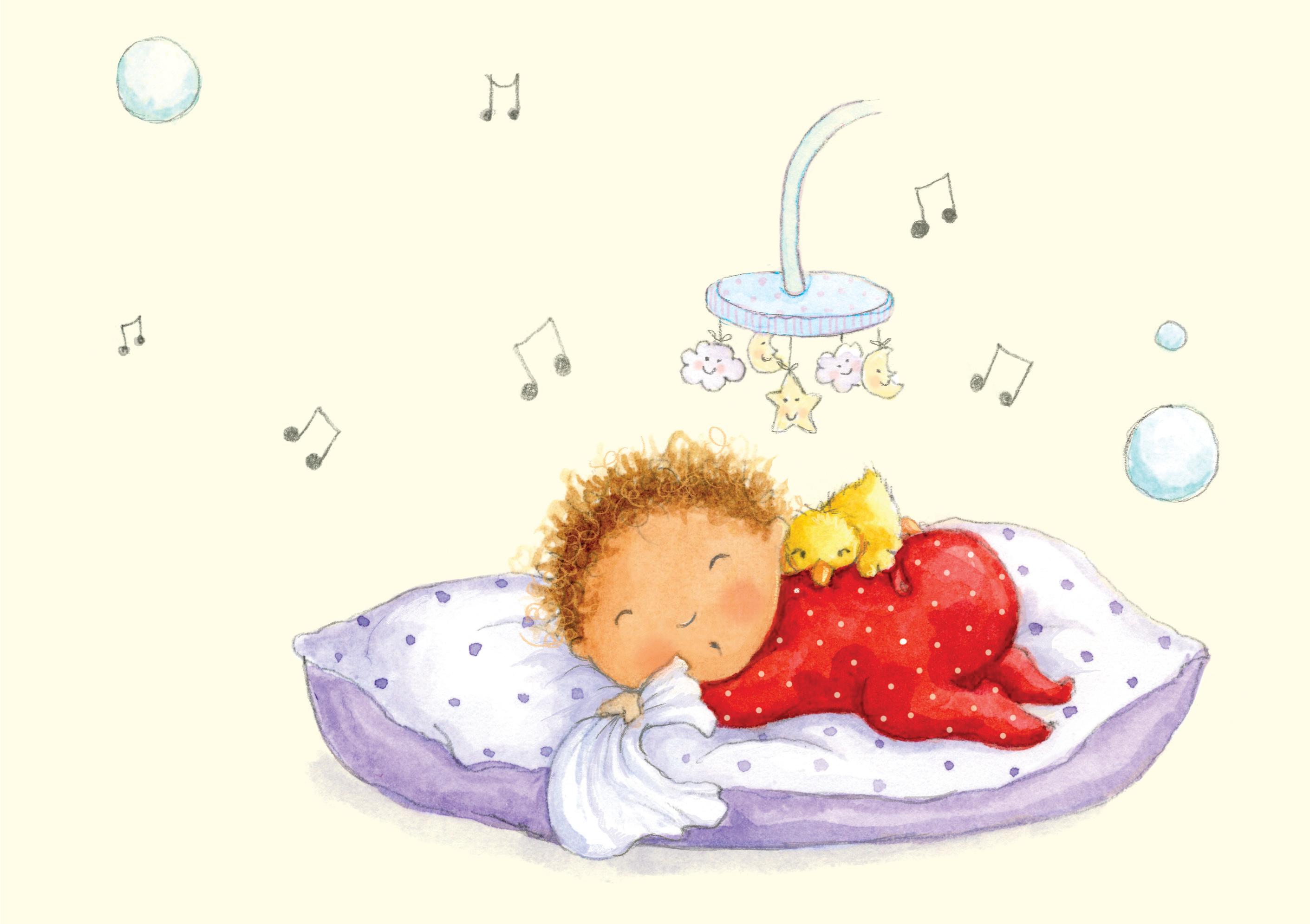 baby asleep_illustration_gail yerrill