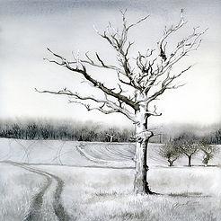 Lightening tree by Gail Yerrill
