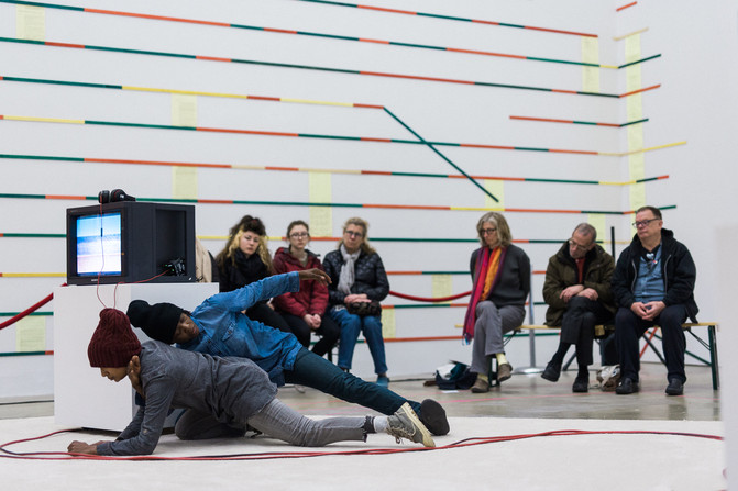 Endless Shout: Taisha Paggett performance at ICA