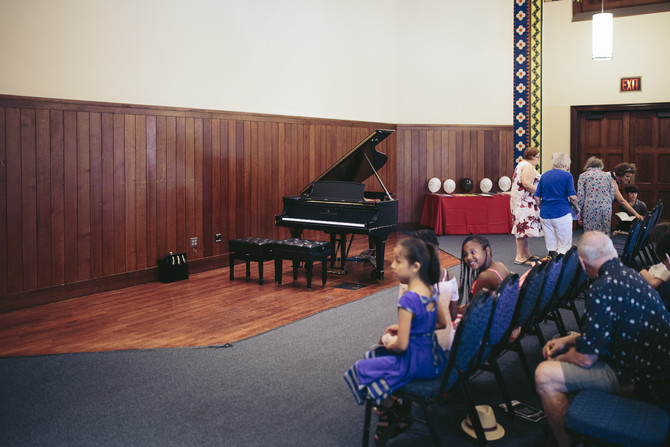 Photos from the 2018 Spring Piano Recital