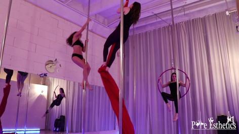 Pole Silk Hoop