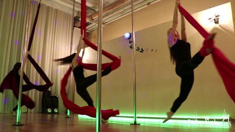 Pole Silk Chairdance Floorwork