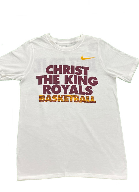Royals Basketball T-shirt (White) - Youth