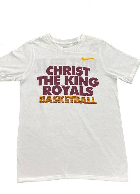 Royals Basketball T-shirt (White)