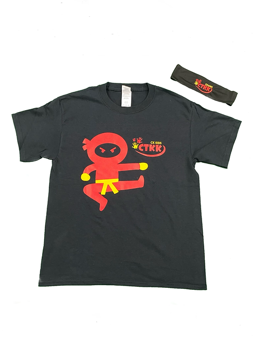 Ninja Starz T-shirt & Headband