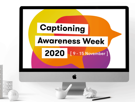 Deafblind UK: Captioning Awareness Week 2020