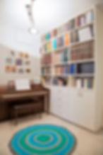 ספריה - עיצוב: רחל בנאסייג פיבן
