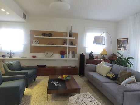 שיפוץ דירה- עיצוב: רחל בנאסייג פיבן
