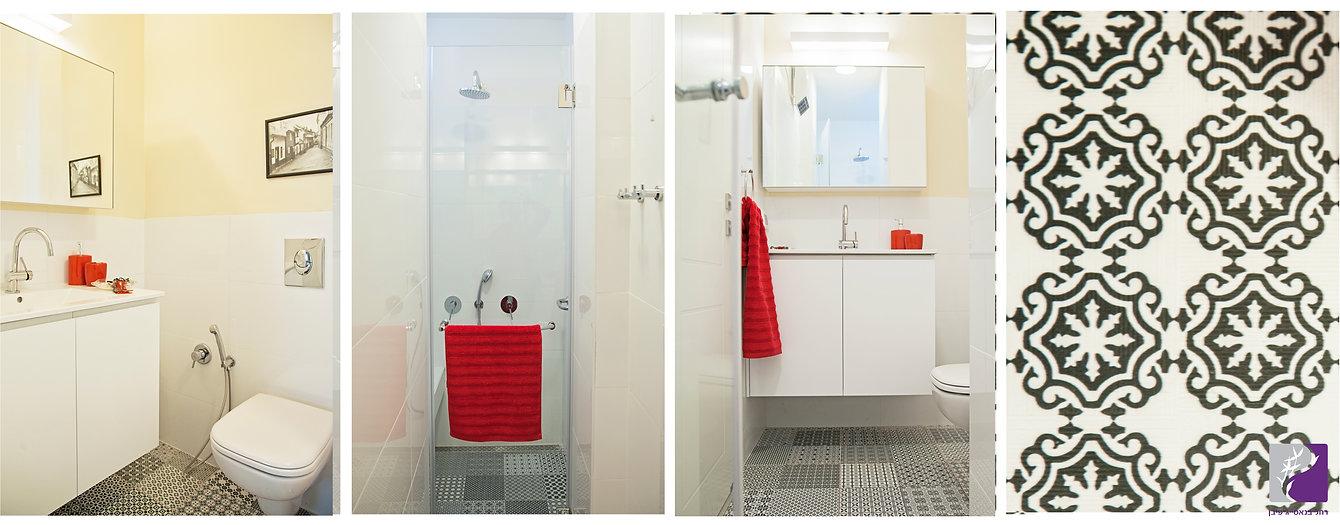 מקלחת בחדר הורים