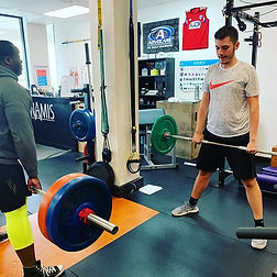 Deadlift face offs with _thebassicofficer and _petarnastoski. _Fight on friends. _#iamstre