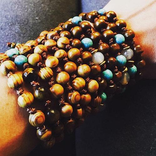 mala beads strand