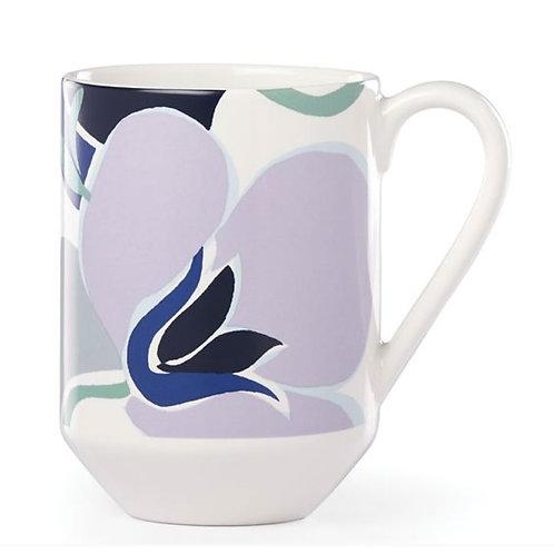 Nolita Blue Floral Mug, By Kate Spade