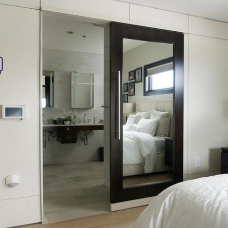 TruStile Mirrored Pocket Door