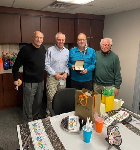 Retirement celebration for Phil Guerrasio