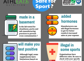 Athlete's Guide to choosing SAFE sports supplements