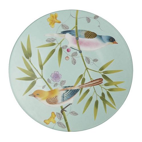 Paradis Turquoise Salad Plate By Raynaud