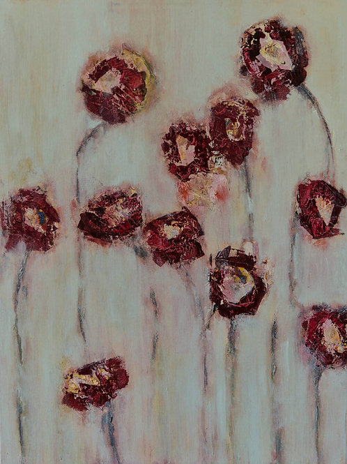 Field Flowers 2 Painting By Bill Tansey
