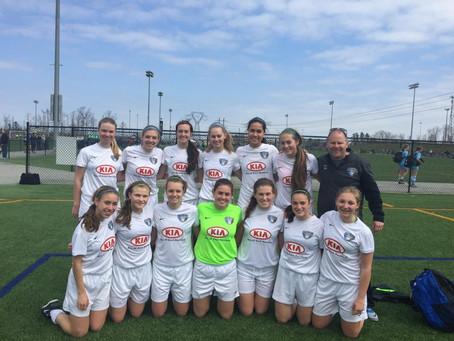 U16 Girls Win Jefferson Cup Division
