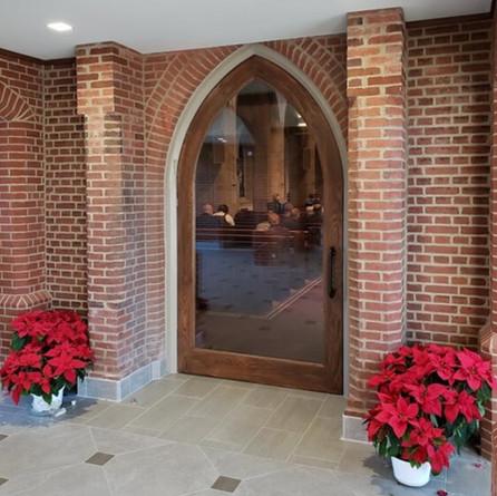 Simpson Church Door