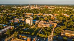 UNC Greensboro Campus Aerial