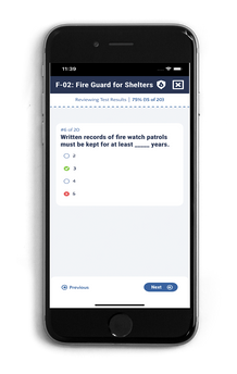 Review Your Fireguard Answers