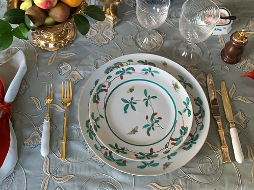 Famille Verte Dinner Plate