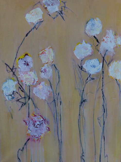 Field Flowers Painting By Bill Tansey