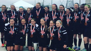 U14 Girls Win their Division at Jefferson Cup