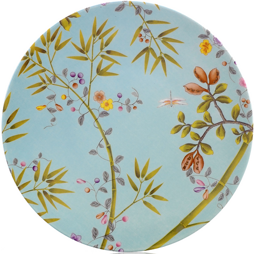 Paradis Turquoise Dinner Plate By Raynaud