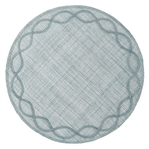 Tuileries Ice Blue Placemat