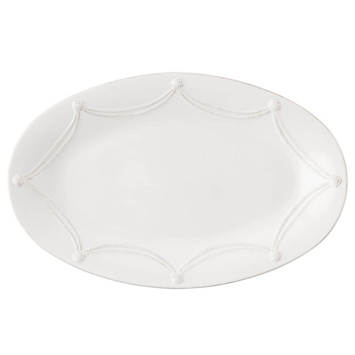 "Berry and Thread Whitewash 18"" Platter"