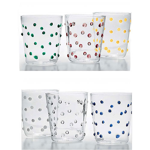 Party Tumbler - Set of 6 Assorted Colors