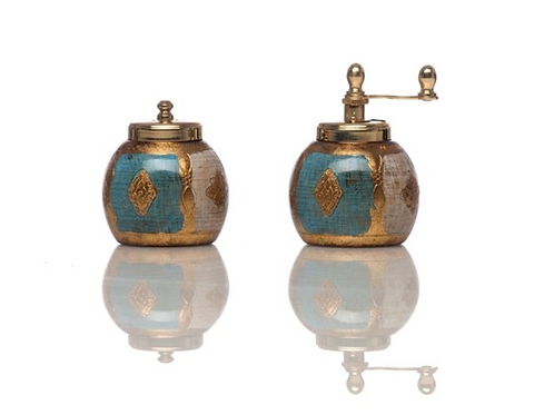 Florentine Salt Shaker and Pepper Mill by Chiarugi