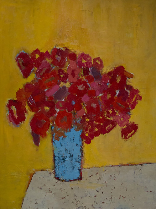 Untitled Floral 10 by Bill Tansey