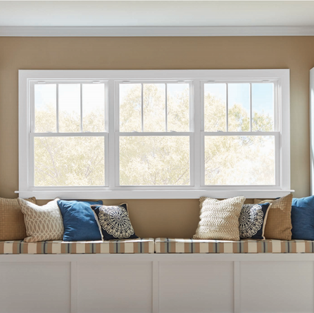Silver Line Double Hung Window