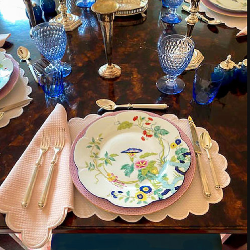 Paradis Dinner Plate by Royal Limoges