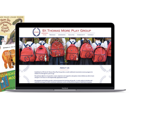 New Website - St.Thomas More Play Group (STMPG)