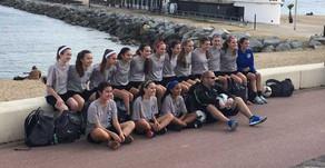 Oakwood Girls Premier Teams U13 & U14 go to Barcelona for spring training.