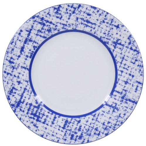 Tweed Blue Plate by Royal Limoges