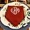 Thumbnail: Terracotta Monogrammed Napkin