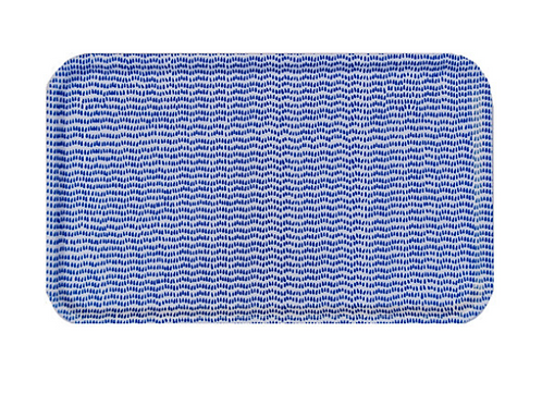Cobalt Blue Rectangular Tray