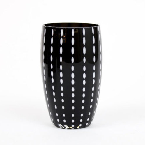 Zafferano Tumbler Perle in Black- Set of Six