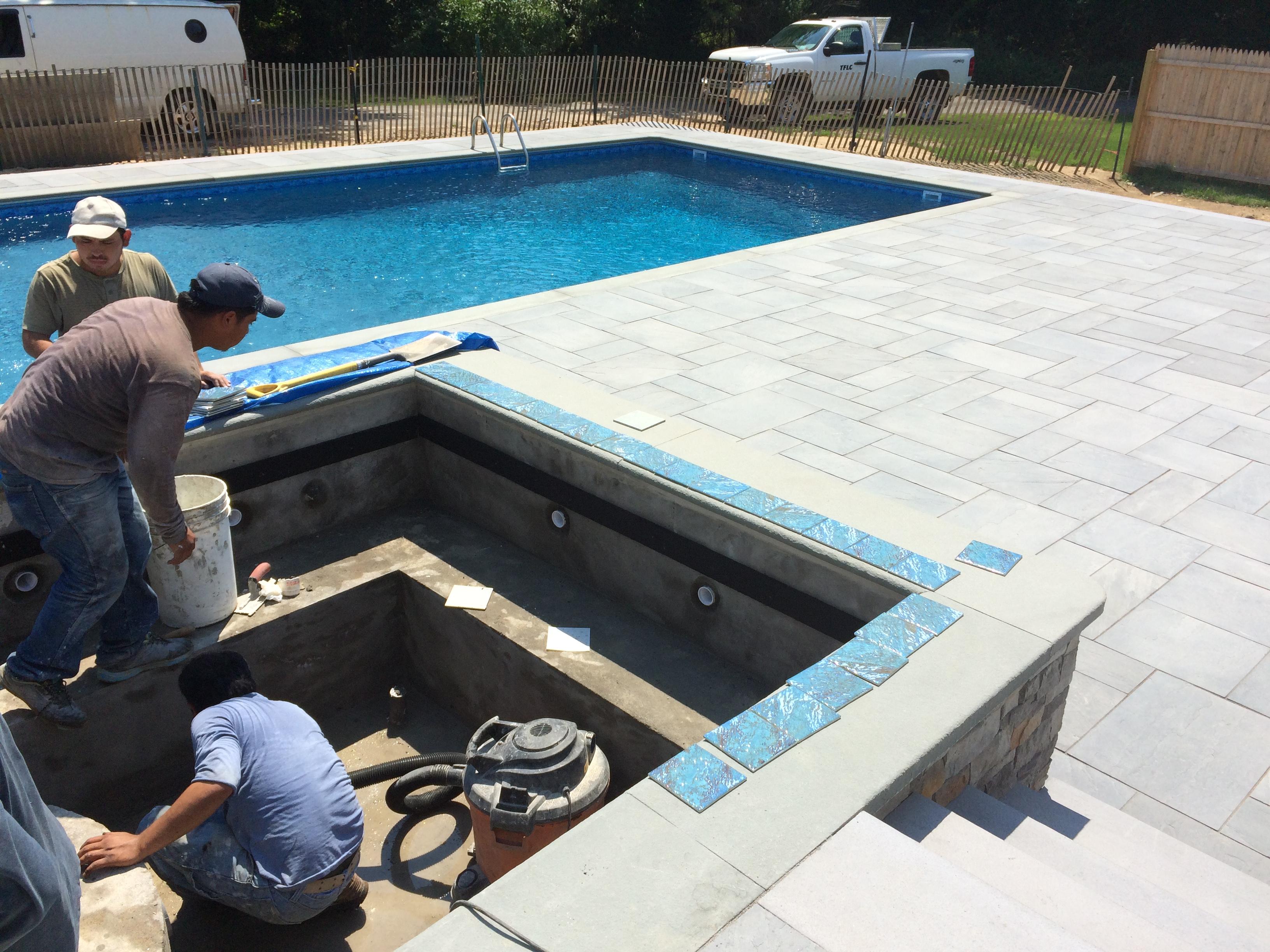 pool patio hot tub-TFLC