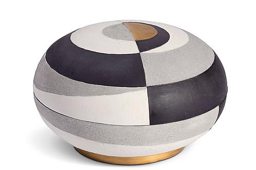 Cubisme Ceramic Box by L'Objet