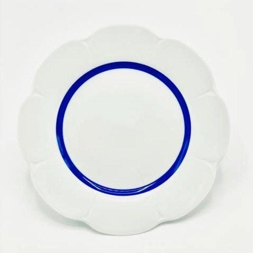 Flirt Blue Plates by Royal Limoges