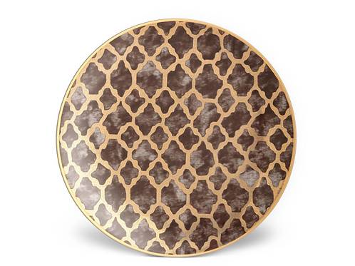 Fortuny Ashanti Dessert Plates by L'Objet- Set of Four-