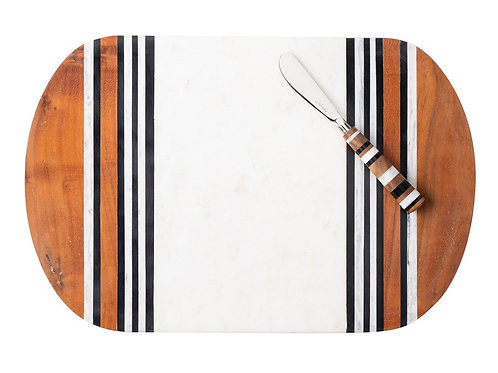 Stonewood Stripe Platter by Juliska