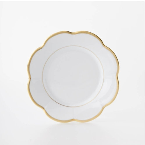Margaux Gold and White Plate